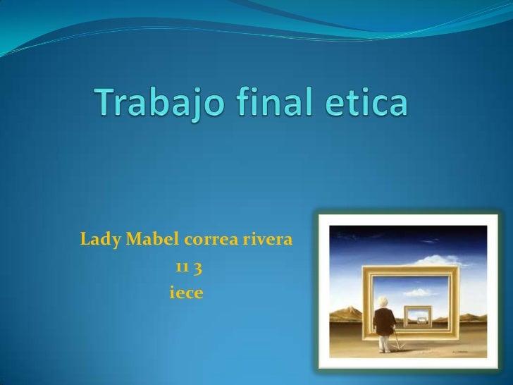 Lady Mabel correa rivera          11 3         iece