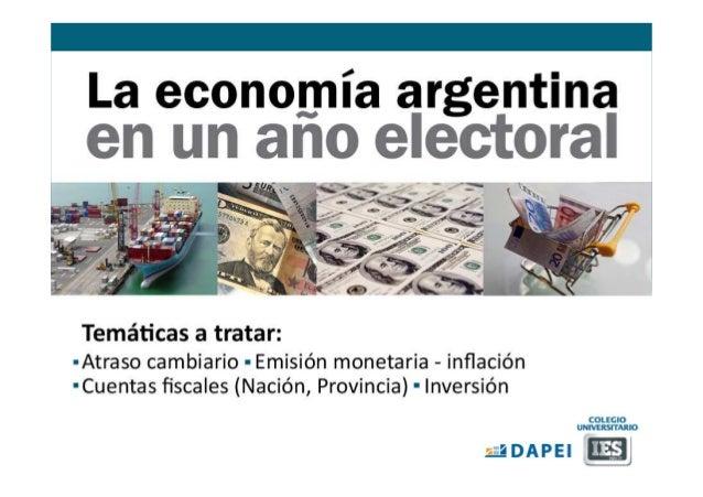 La Economía Argentina post elecciones 2013