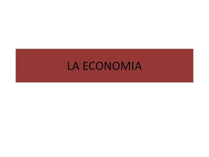 La economia ch