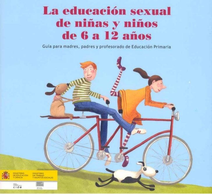 La educacion sexual  educacion primaria