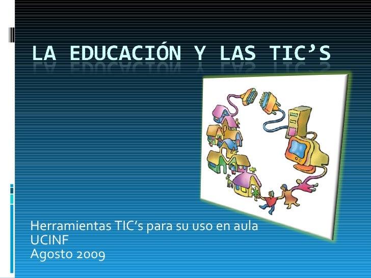 La Educacion Y Las Tic