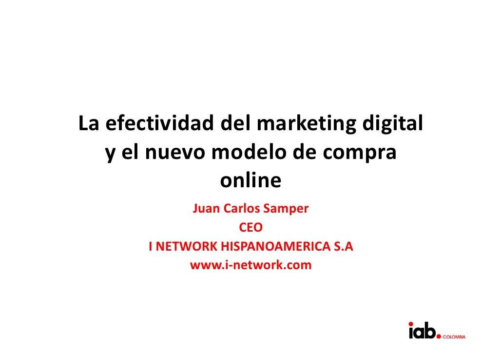 La efectividad del marketing digital y el nuevo modelo de planificación