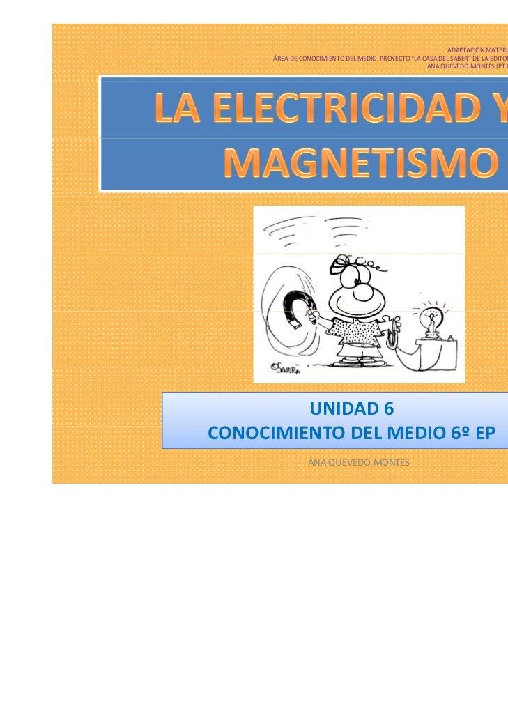 La electricidad y el magnetismo [modo de compatibilidad]