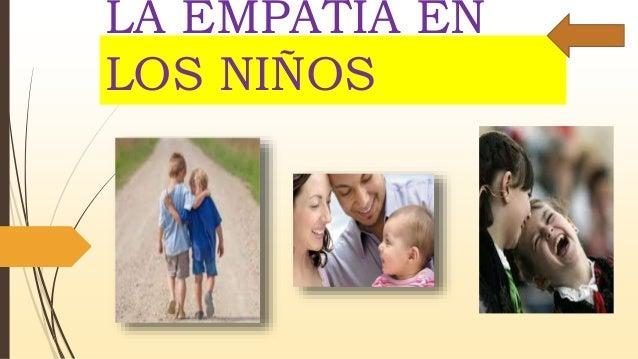 La empatia en los niños