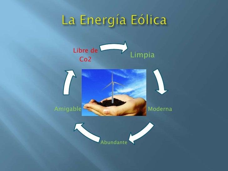 La Energía Eólica<br />