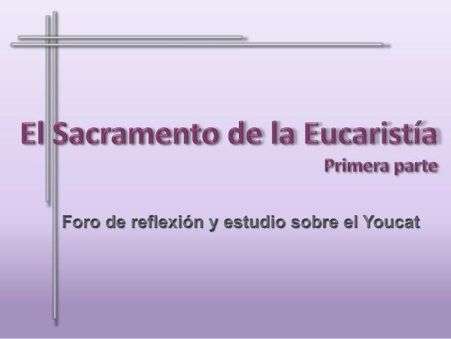 Preguntas: 208.  • ¿Qué es la Sagrada Eucaristía?  209.  • ¿Cuándo instituyó Jesús la Eucaristía?  210.  • ¿Cómo instituyó...
