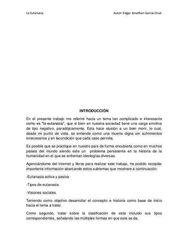 La eutanasia monografia - Casos de eutanasia ...
