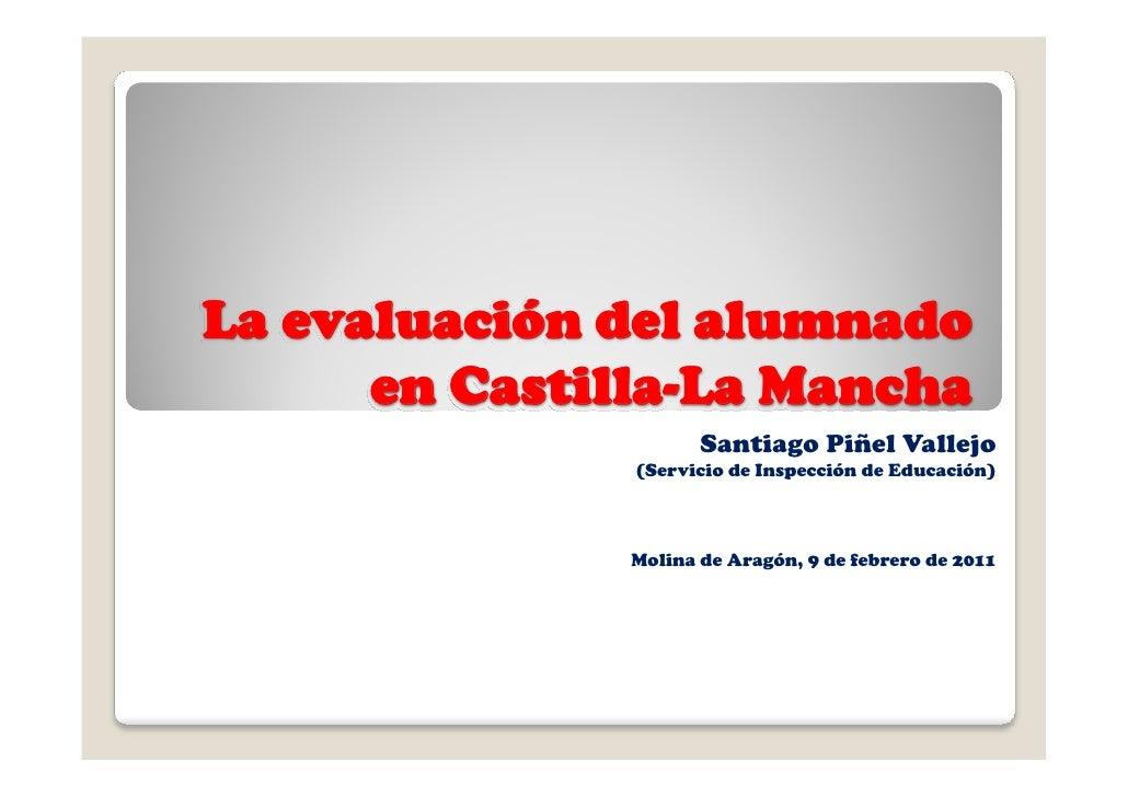 La evaluación del alumnado 09 02-11