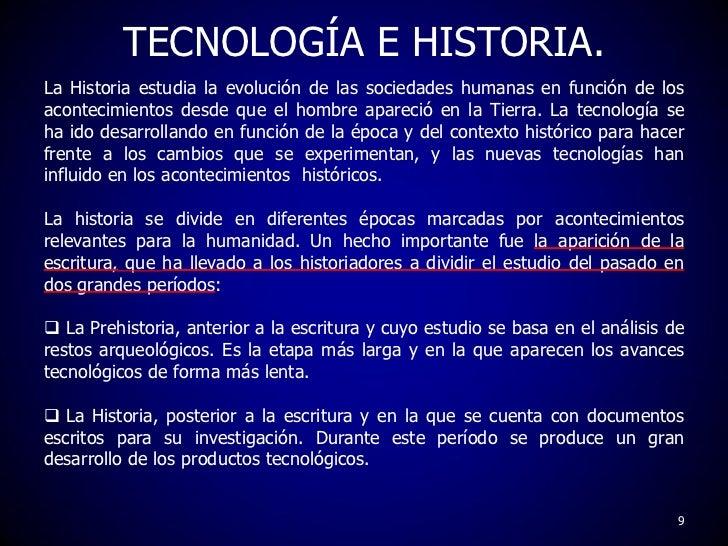 La evoluci n de la tecnolog a for Historia de la gastronomia pdf