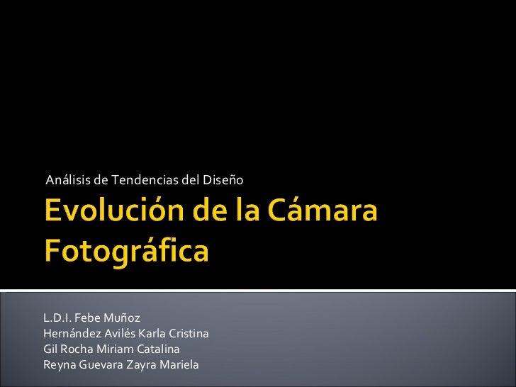 La Evolucion De La Camara Fotografica