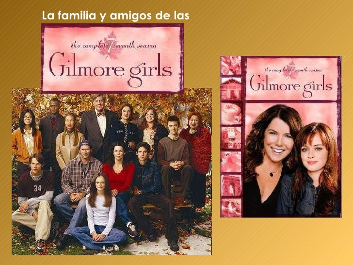 Spanish project -- Gilmore Girls