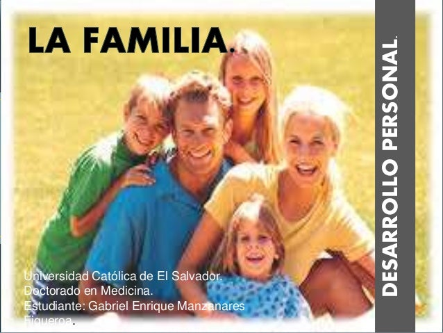 DESARROLLOPERSONAL. Universidad Católica de El Salvador. Doctorado en Medicina. Estudiante: Gabriel Enrique Manzanares Fig...