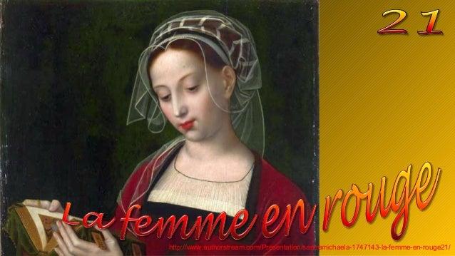 La femme en rouge21