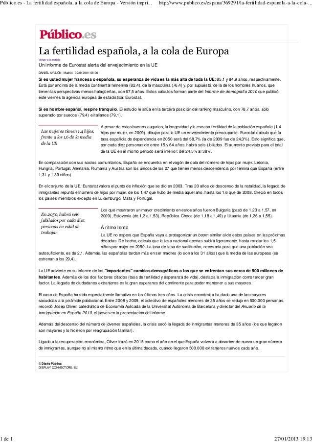 Público.es - La fertilidad española, a la cola de Europa - Versión impri...               http://www.publico.es/espana/369...