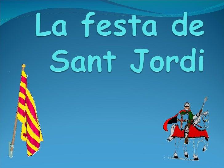 La Festa De Sant Jordi