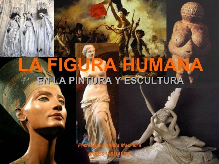 LA FIGURA HUMANA  EN LA PINTURA Y ESCULTURA Profesora Daniela Maureira ARTES VISUALES