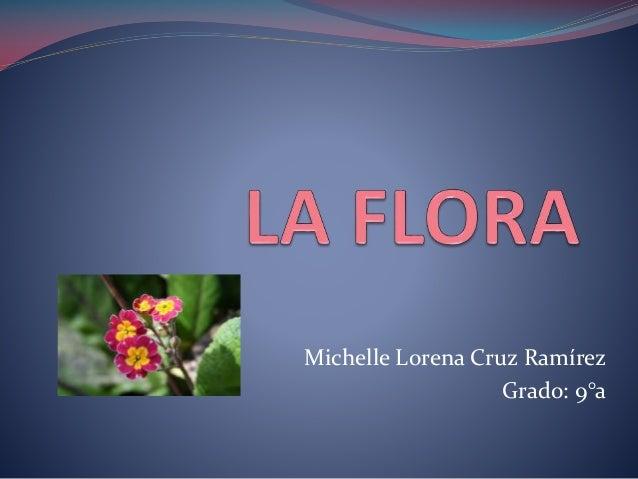 Michelle Lorena Cruz Ramírez Grado: 9°a
