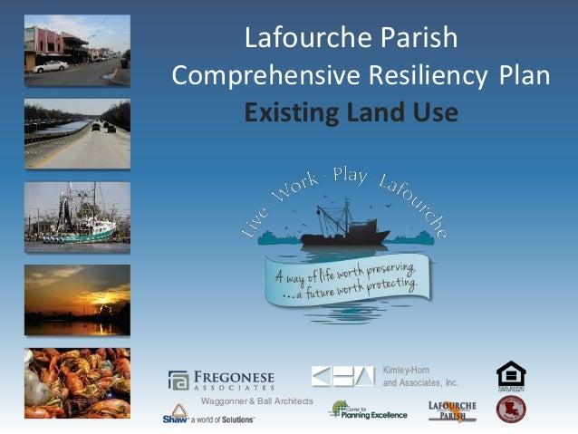 Lafourche Parish Existing land use