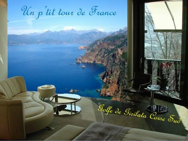 Un p'tit tour de France Golfe de Girilata Corse Sud