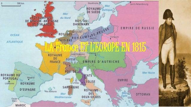 LA France ET L'EUROPE EN 1815