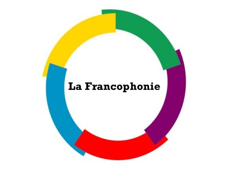 La Francophonie  erfbrs