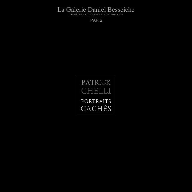 La Galerie Daniel BesseicheXXE SIÈCLE, ART MODERNE ET CONTEMPORAINPARIS
