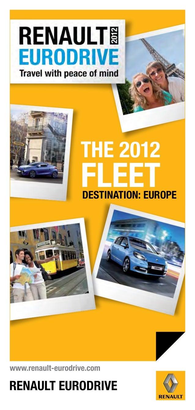 Car Rental in Europe Download Broucher
