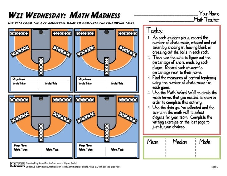 Wii Wednesday:  Math Madness
