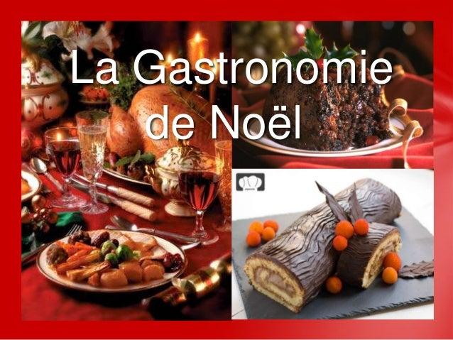 La Gastronomie   de Noël