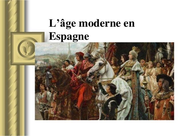 L'âge moderne en Espagne