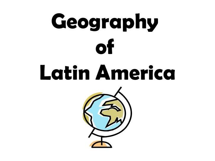 La geography