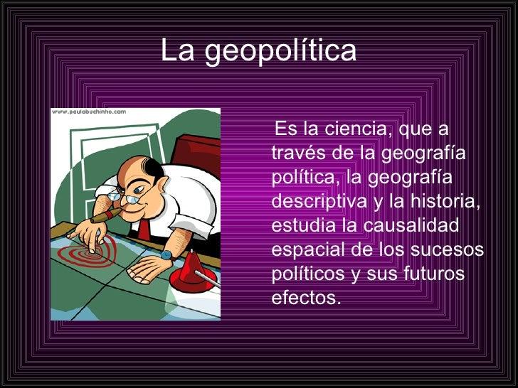 La GeopolíTica