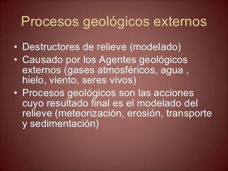 La geosfera. tema 9