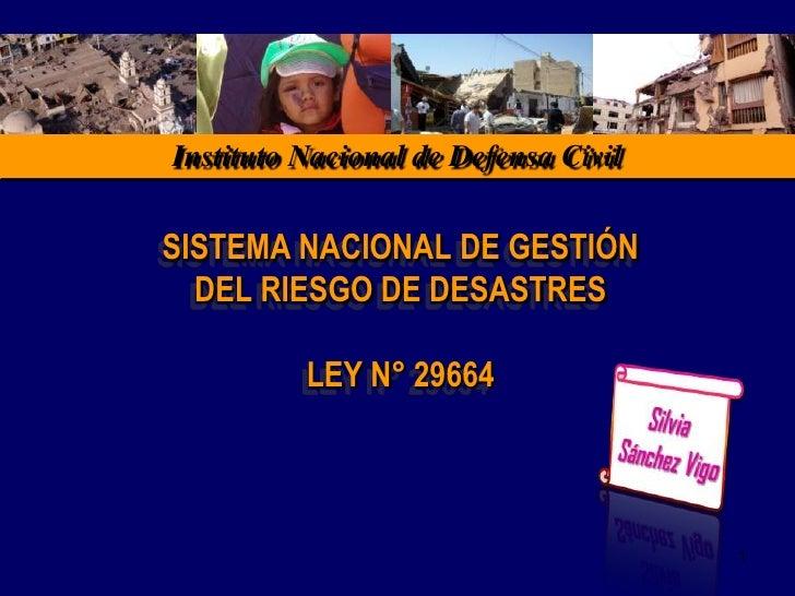 La Gestión Reactiva del Riesgo de Desastres