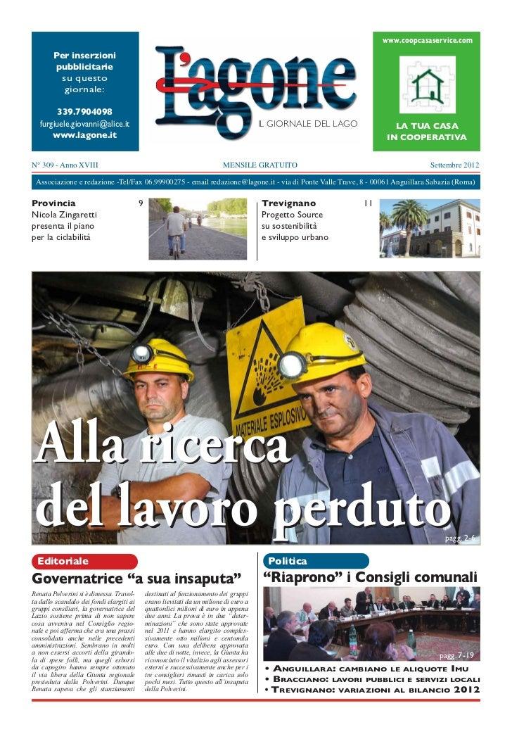 www.coopcasaservice.com        Per inserzioni        pubblicitarie          su questo           giornale:        339.79040...