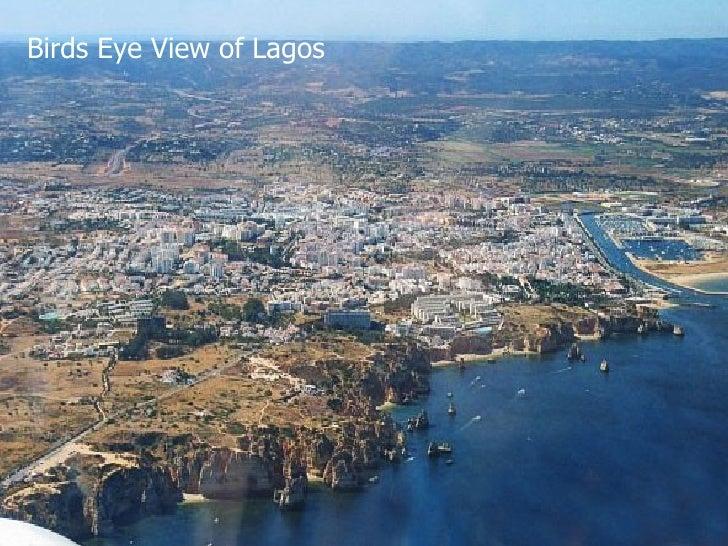 Birds Eye View of Lagos