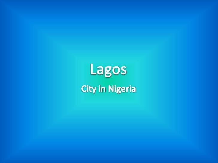 Lagos by Michał W. & Marcin Z.
