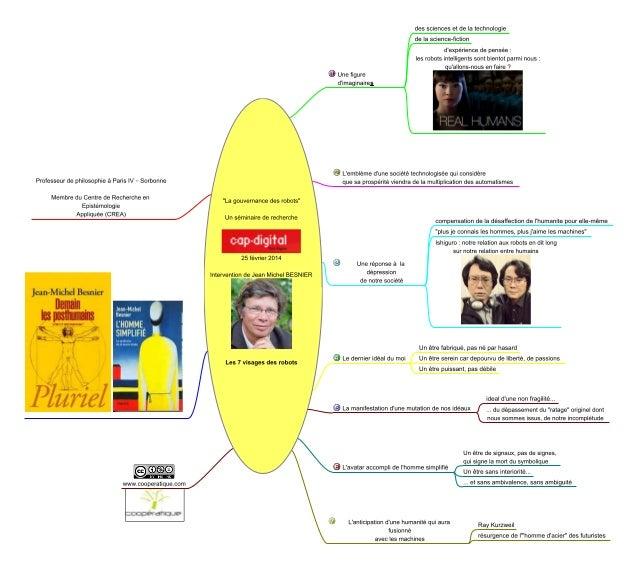 La gouvernance des robots intervention jm_besnier_cap_digital