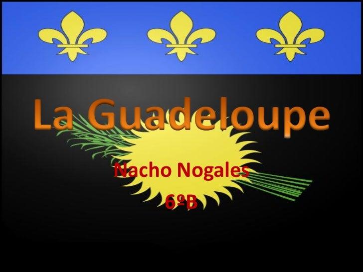 La guadeloupe nacho nogales 6ºb