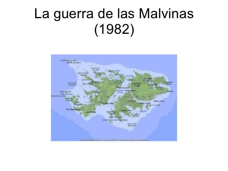 La guerra de las Malvinas (1982)