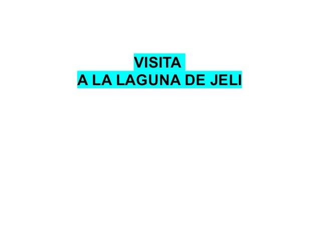 VISITA A LA LAGUNA DE JELI