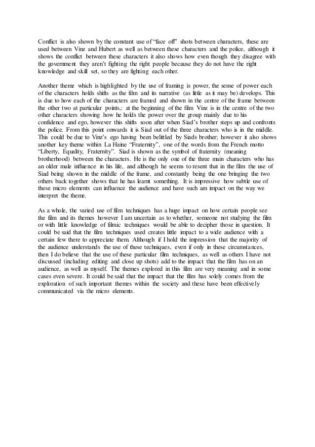 la haine ending analysis essay essay for you  la haine ending analysis essay image 8