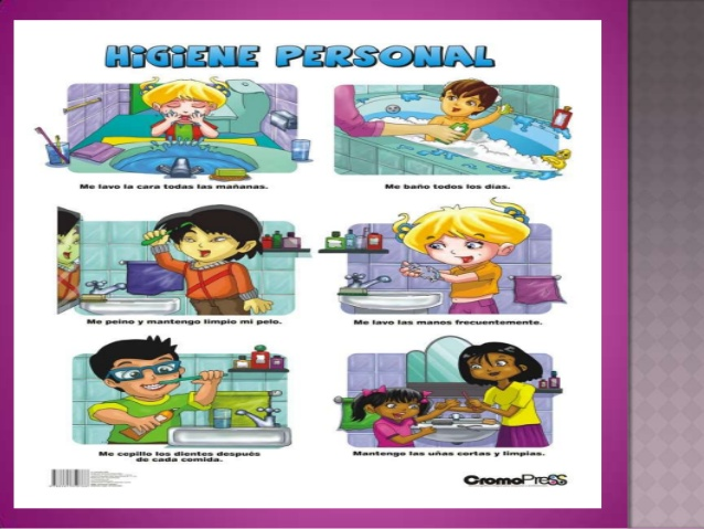 Imágenes de la higiene personal - Imagui