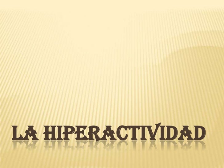 La hiperactividad power (2)