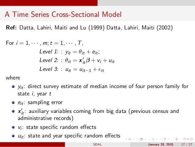 limitations of ratio analysis for cross sectional Limitations of cross-sectional analysis 627 troubling not only because heteroscedasticity commonly arises in cross-sectional data but, as discussed below, heteroscedasticity can be.