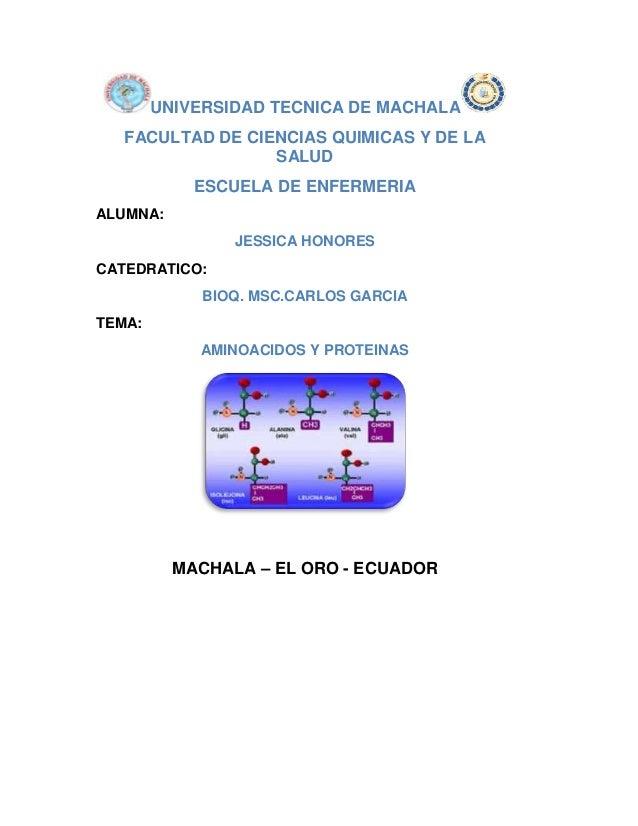 UNIVERSIDAD TECNICA DE MACHALA FACULTAD DE CIENCIAS QUIMICAS Y DE LA SALUD ESCUELA DE ENFERMERIA ALUMNA: JESSICA HONORES C...