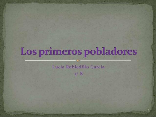 Lucia Robledillo García         5º B                          1