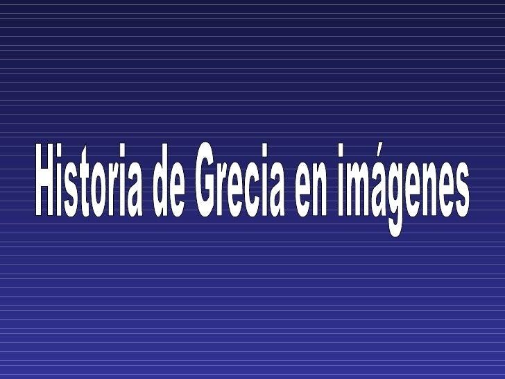 Historia de Grecia en imágenes