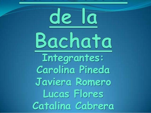 Integrantes: Carolina Pineda Javiera Romero Lucas Flores Catalina Cabrera