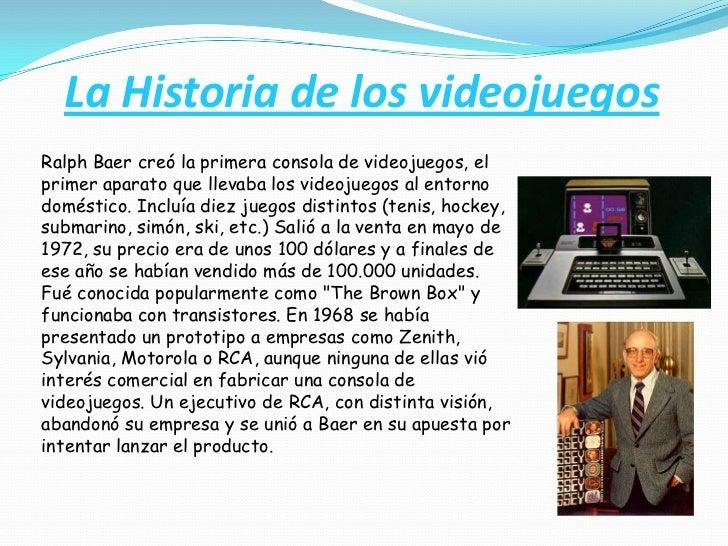 La Historia de los videojuegos<br />